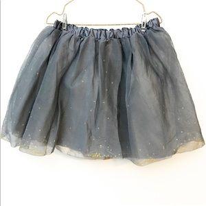 Zara girls tulle skirt
